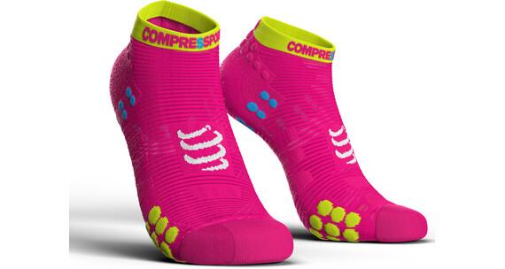Compressport Pro Racing V3.0 Run Low Hardloopsokken roze